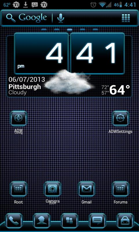 Vaporize Apex\ADW Theme- screenshot