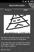 Screenshot of nameless archive