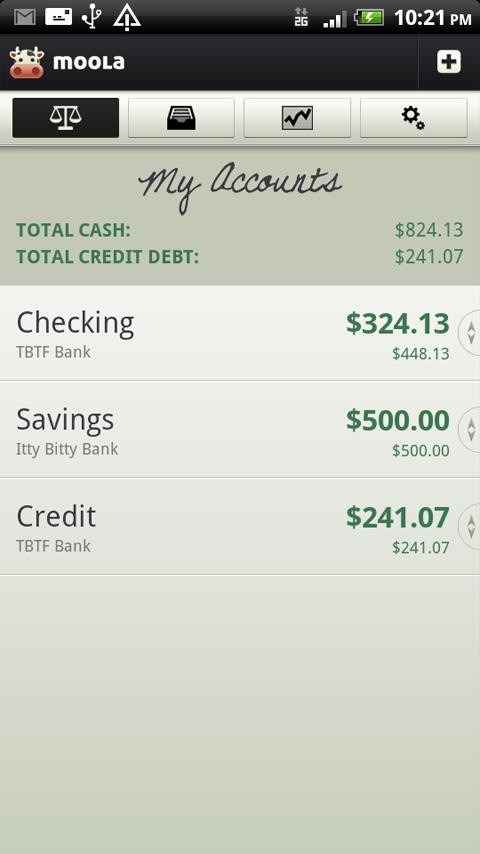 mooLa! (Checkbook) FREE- screenshot