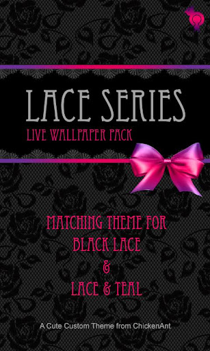 Bows and Lace Wallpaper Pack