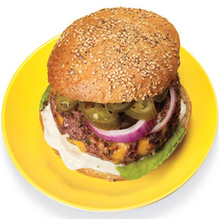 Ranch Bison Burger.