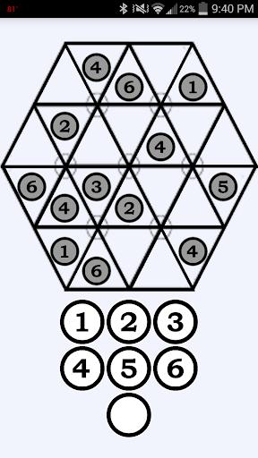 六邊形的數獨