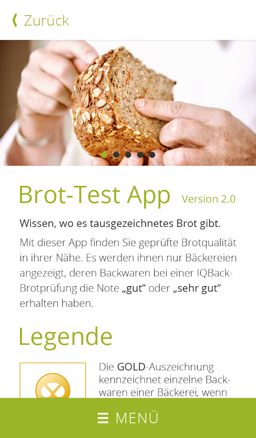 Brot-Test- screenshot