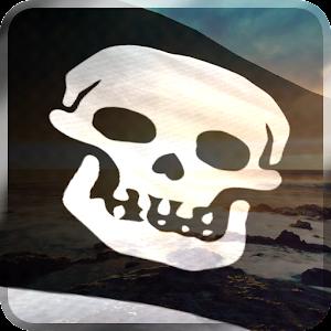 pirate flag live wallpaper apk