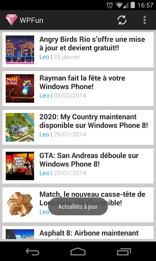 Windows Phone Fun!- screenshot