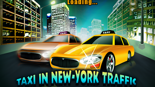 Taxi in New -York Traffic Game