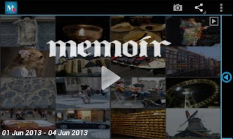 Screenshot of Memoir -Everyday video collage