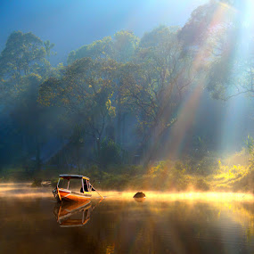 Under the morning light by Ymmot Davinci - Landscapes Waterscapes