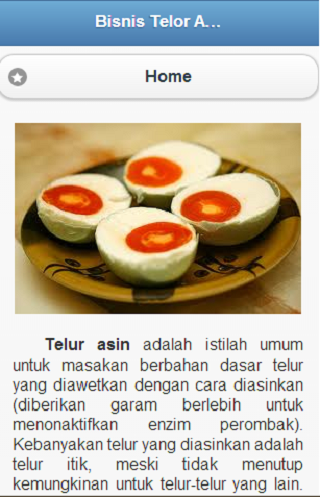 【免費教育App】Bisnis Telor Asin-APP點子
