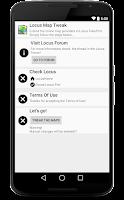 Screenshot of Locus - addon Map Tweak