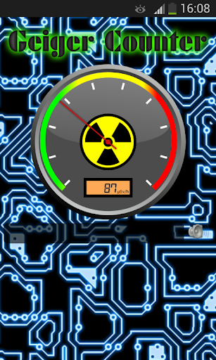 iPhone Ratemeter Software to Display Geiger Counter Readings