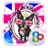 UK Style GO Launcher Theme