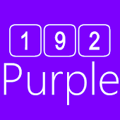 192C Purple Icon Pack
