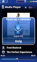 Screenshot of JVC Smart Music Control