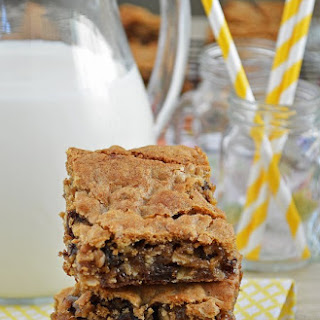 Gluten Free Oatmeal Raisin Cookie Bars