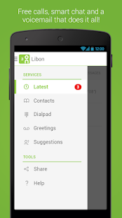Libon – Free Calls Voicemail