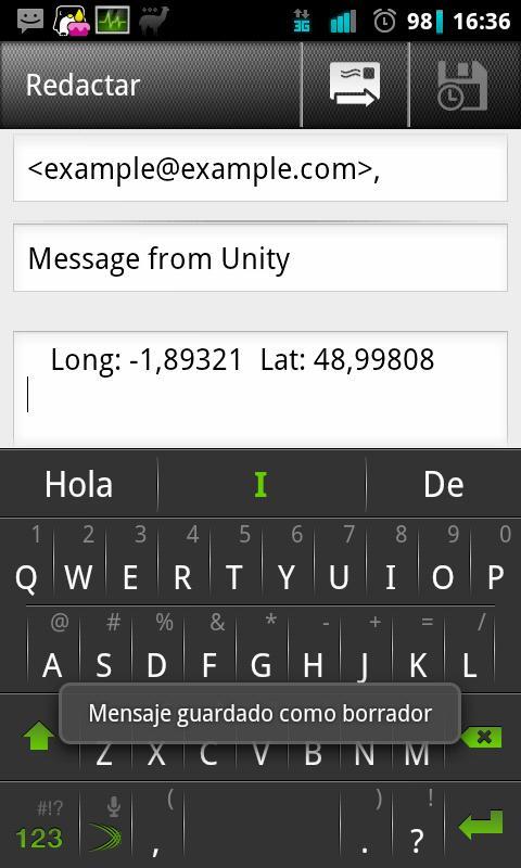 Unity (Encuéntrame)- screenshot