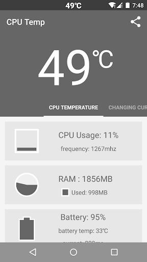 Cpu Temperature Pure