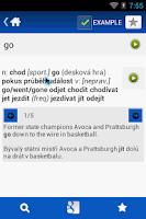 Screenshot of Czech English Dictionary