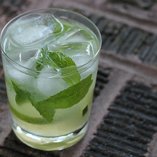 Mint Limeade Mocktail Drink.