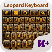 Leopard Keyboard Theme
