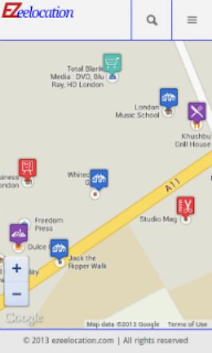 Ezee location
