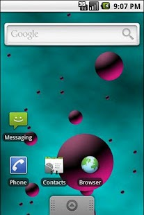 3D Bubbles Live Wallpaper- screenshot thumbnail