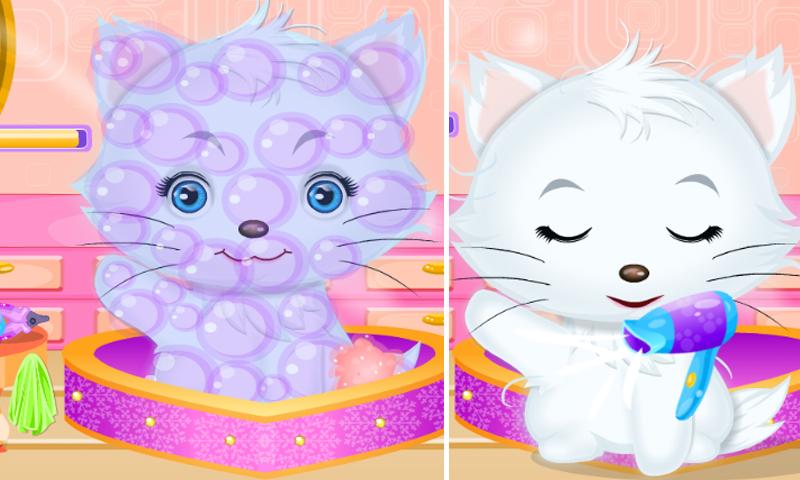 Princess Kitty Hair Salon - screenshot