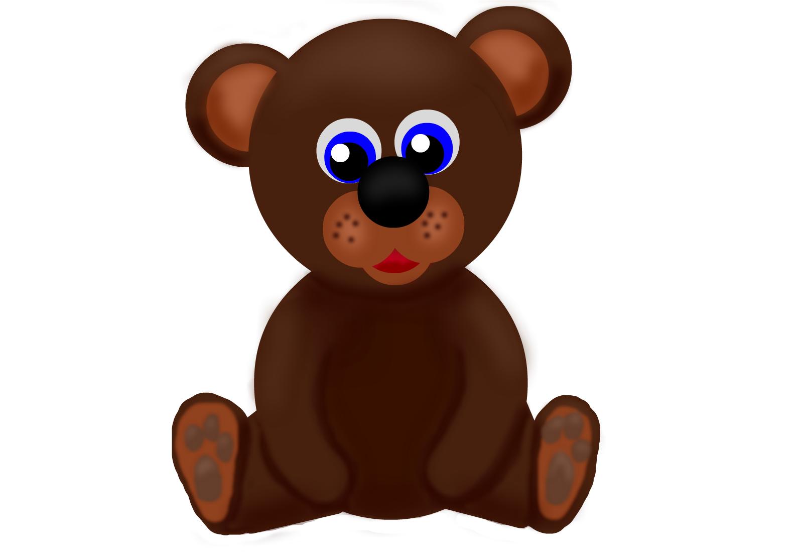brown bear drawings sketchport