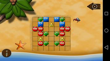 Screenshot of Jumping Stones (logic)