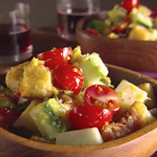 Cornbread Panzanella Salad.