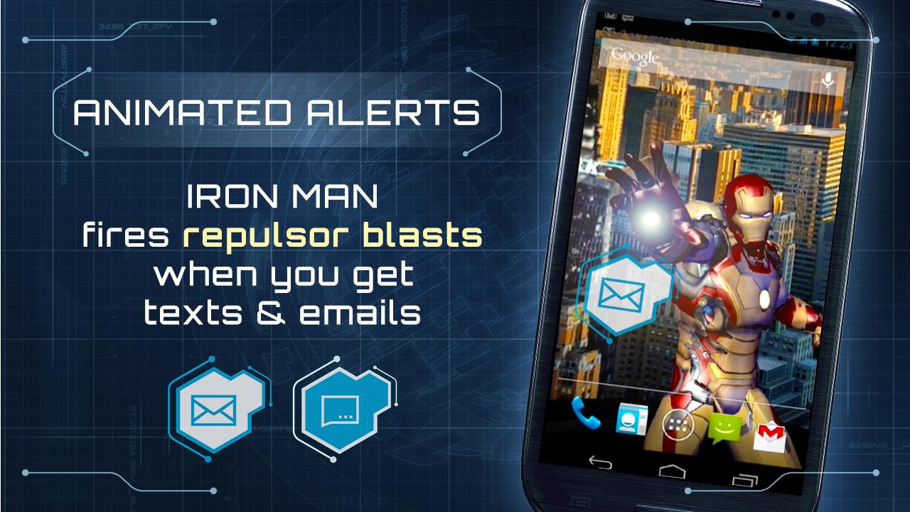 Iron Man 3 Live Wallpaper (Android) reviews at Android Quality Index
