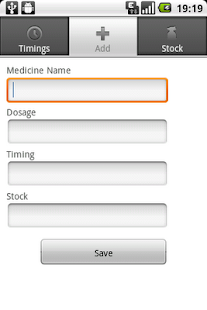 Track your Medicines - screenshot thumbnail