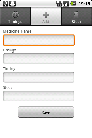 Track your Medicines - screenshot