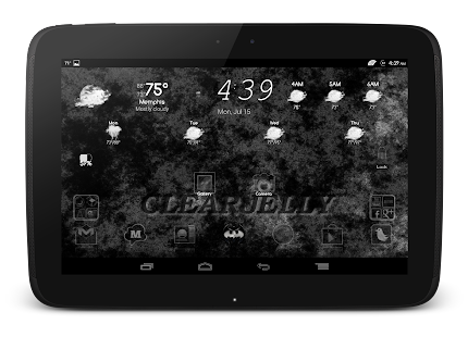 ClearJelly ROM Theme