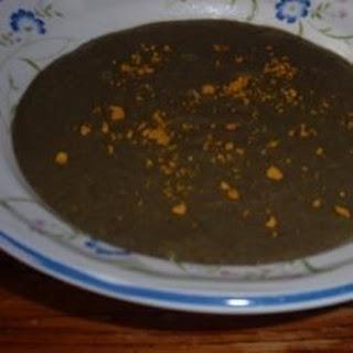 Tropical Coconut Black Bean Soup.