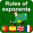 Rules of exponents icon