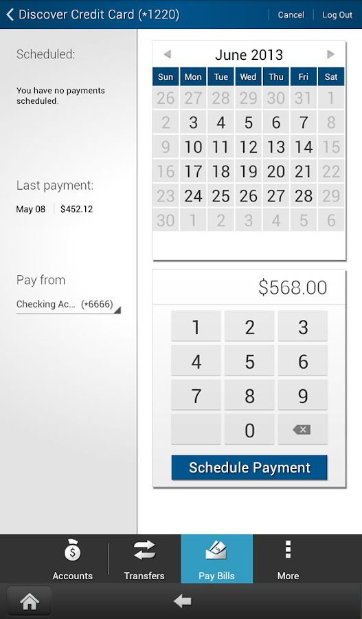 BancFirst Mobile Banking - screenshot