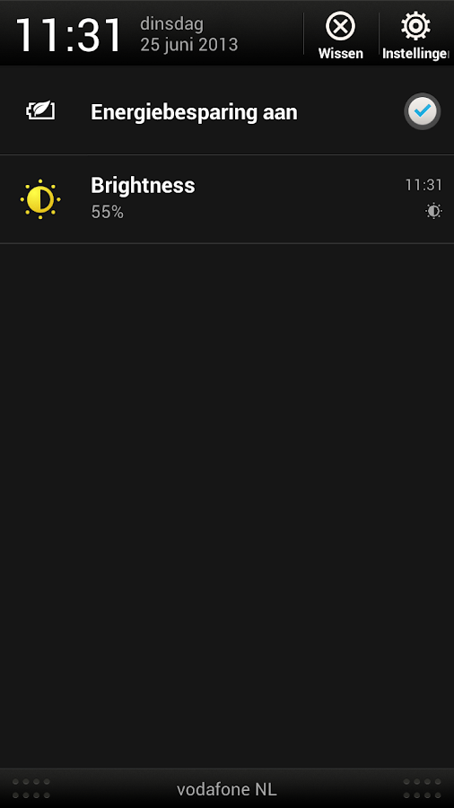 Brightness- screenshot