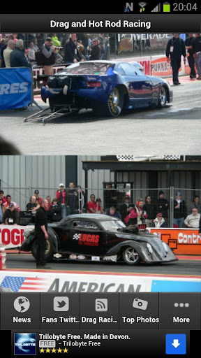 Hot Rods Drag Racing