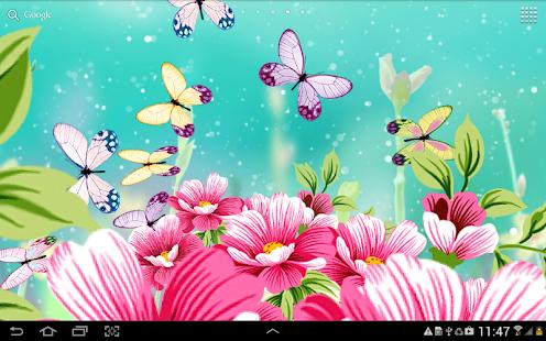 Flowers Wallpaper Screenshot Thumbnail