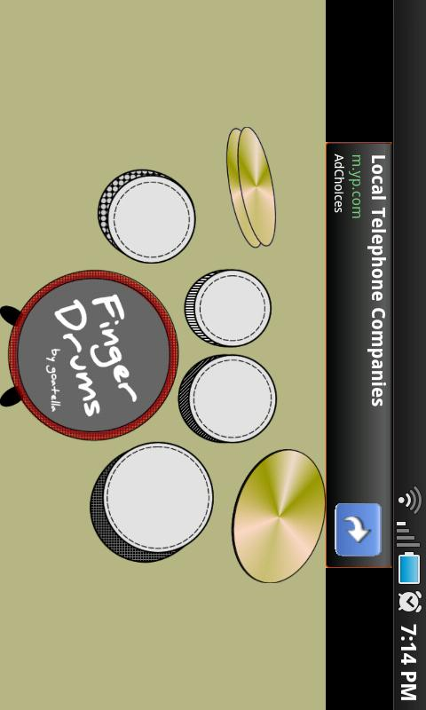 Kid's Finger Drums - screenshot
