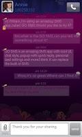 Screenshot of GO SMS Pro Purple theme