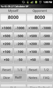 Yu-Gi-Oh LP Calculator GP