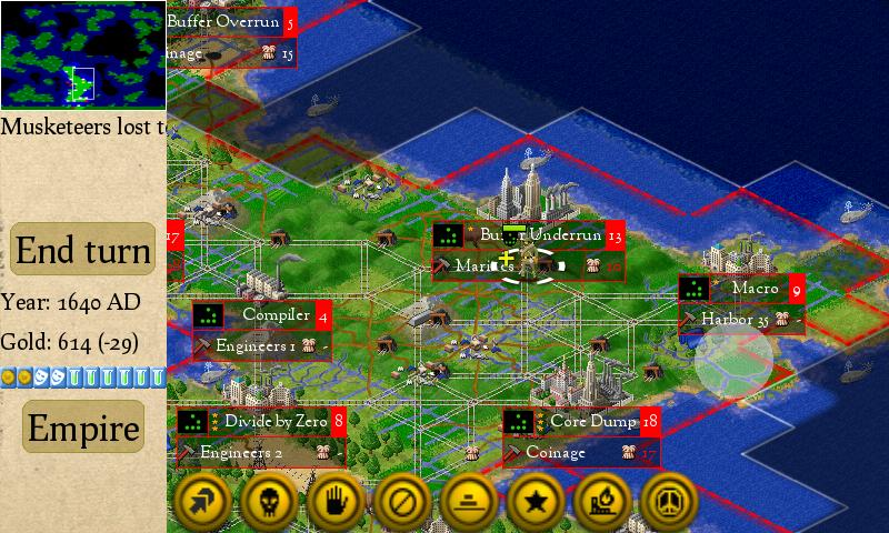 Freeciv- screenshot