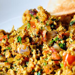 Spicy Anda Bhurji – Indian scrambled eggs