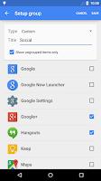 Screenshot of Apex Launcher Pro