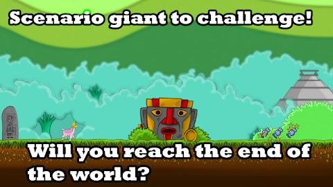 Llama Unicorn vs Rainbow World Screenshot 2