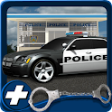 Free 3D Police Car Parking icon