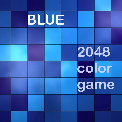 BLUE - Color 2048 Puzzle Game LOGO-APP點子